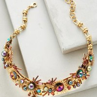 Elizabeth Cole Tille Collar Necklace in Gold Size: One Size Necklaces