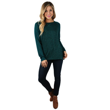 Oh So Comfy Tee in Teal