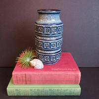 Vintage West Germany Vase, Retro Ceramic Pottery, Vintage Vase, Vintage Pottery