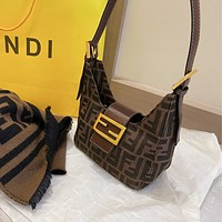 FENDI FF Retro Mini Handbag Shoulder Bag