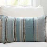 WENTWORTH STRIPE LUMBAR PILLOW COVER