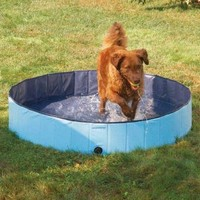 Cool Pup Splash About Dog Pool Small, Blue
