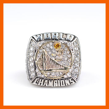 2015 New Arrival Golden State Warriors Basketball Championship Rings For US Size 6 to US Size 14 Available