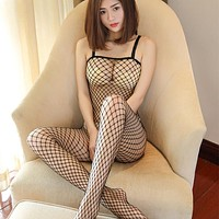 Sexy Hot Fishnet  Hollow Lingerie For Women