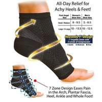 1pc Foot Ankle Compression Socks Anti Fatigue Varicose Feet Sleeve(1.S/M 2.L/XL) [9303680970]
