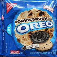 Nabisco Limited Edition Oreo Cookie Dough Chocolate Sandwich Cookies, 10.7 oz