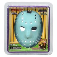 NECA Friday the 13th NES 1989 Video Game JASON MASK, Glow-in-the-Dark Halloween