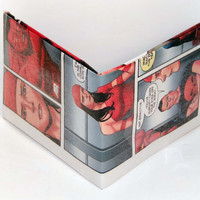 Comic Book Wallet// Thunderbolts// Elektra, Red Hulk, and Punisher