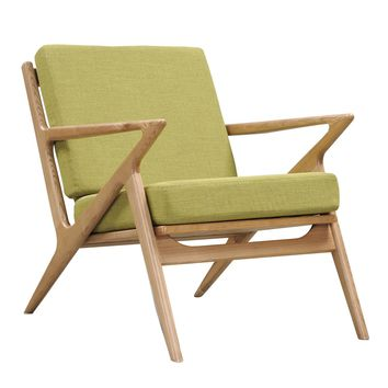 Jet Accent Chair LIME - NATURAL