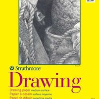 Pro-Art 9-Inch by 12-Inch Strathmore Spiral Drawing Notebook, 50-Sheet   AihaZone Store