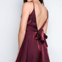 Lovely All Day Dress - Burgundy