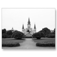 St. Louis Cathedral Postcard from Zazzle.com