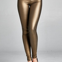 Liquid Leggings Gold