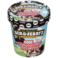 Ben & Jerry's Cheesecake Brownie Ice Cream, 1 pt - Walmart.com