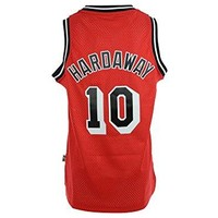 Tim Hardaway #10 adidas Miami Heat Red Throwback Adult Swingman Jersey