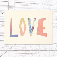 Love Wooden Wall Art - Urban Outfitters