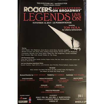 Legends Live On! Poster