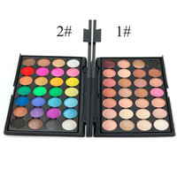 Professional 28 Color Nude Eye shadow Palette Makeup Cosmetic Beauty Set 2 Patterns For Choose 2016 New Hot