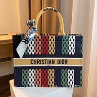 Dior shopping bag fashion trend shoulder bag