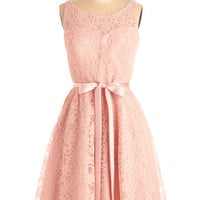 Simply Divine Dress in Blush