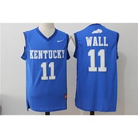 Online NCAA University Basketball Jersey Kentucky Wildcats # 11 John Wall