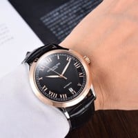 PATEK PHILIPPE Ladies Men Women Quartz Watches Business Wrist Watch