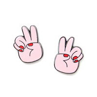 Peace Out Pin Set