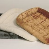 """Midwest Quiet Time Fleece Crate Bed, 22"""" x 13"""""""