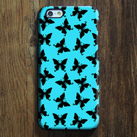 Butterfly Pattern Design iPhone 6s Case/Plus/5S/5C/5/4S Protective Case #424