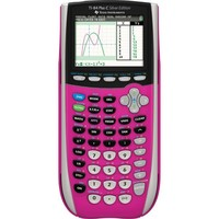 Texas Instruments TI-SEC84 Color Screen Graphing Calculator, Pink | Staples