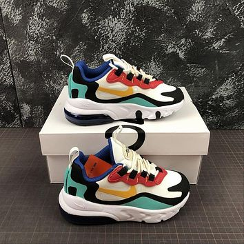 Nike Air Max 270 React Toddler Kid Running Shoes Child Sneakers