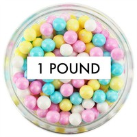 Pearly Spring Mix Sugar Pearls 1 LB