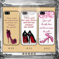 High-heeled shoes, iPhone 5s case iPhone 5C Case iPhone 5 case iPhone 4 Case iPhone Samsung Galaxy S4 case Galaxy S3 ifg-12
