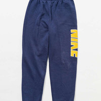 Vintage Nike Navy + Yellow Sweatpant | Urban Outfitters