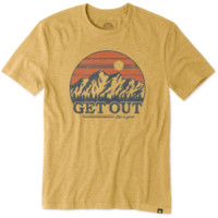 Men's Get Out Mountain Cool Tee