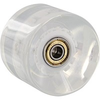 Yocaher Lighting Led Longboard Wheels 70mm Clear With Blue LED Lights