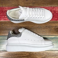 Alexander McQueen Classic white shoes-46