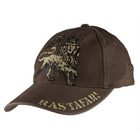 Rastafari - Lion Logo Fitted Baseball Cap