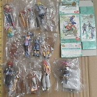 Kotobukiya One Coin Tales of Symphonia TOS 6+1 Secret 7 Trading Collection Figure Set