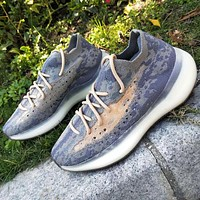 "Adidas Yeezy Boost 380 V3 ""Alien"" FV3260 Stone texture Purple Joint Limited Coconut Shoes"