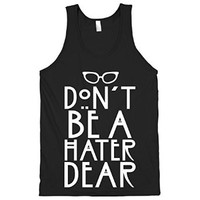 HUMAN Don't Be a Hater Dear Black Small T-Shirt