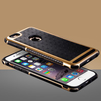 Black and Gold  Case For Iphone 6s 6 Plus