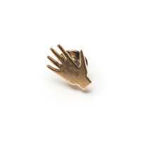 Neighbour — Brass Hand Pin