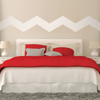 """7"""" Wide Chevrons Wall Decals"""