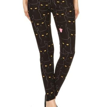 The Cat's Meow Print Leggings