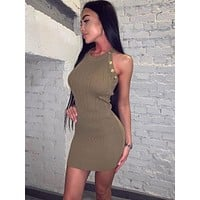 Gwen Mini Dress In Green