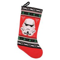 Star Wars Storm Trooper Knit Christmas Stocking