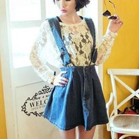 Denim Dungaree Dress from TheSOUL-ERS