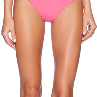 siempre golden Tres Amigos Bikini Bottom in Pink
