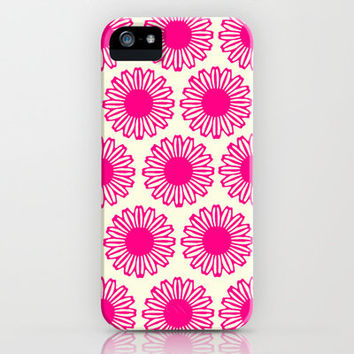 Vintage Flower_Pink iPhone Case by Garima Dhawan | Society6